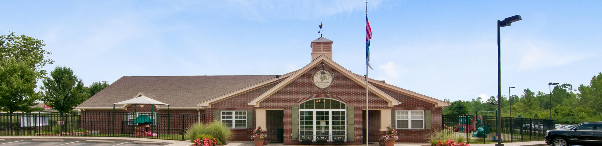 Exterior of a Primrose School of Centerville