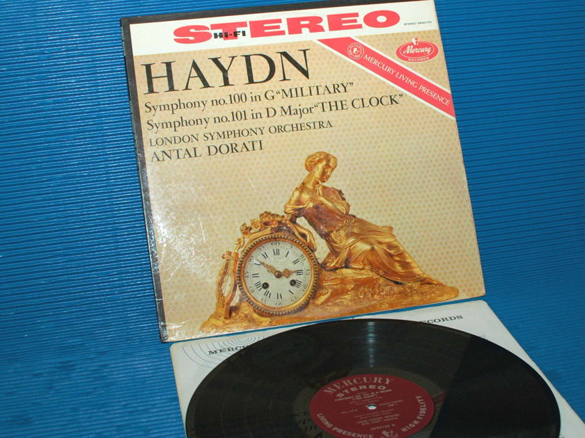 "HAYDN / Dorati  - ""Symphony 100 & 101"" - Mercury Living Presence 1959 1st pressing"