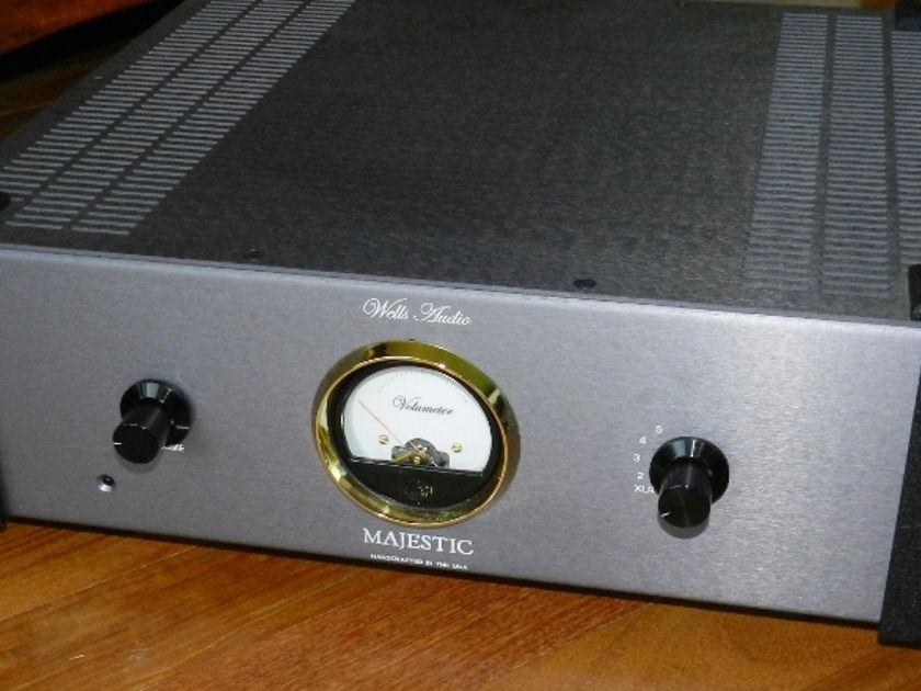 Wells Audio Majestic Integrated Amp 150 Watts Grey-Silver