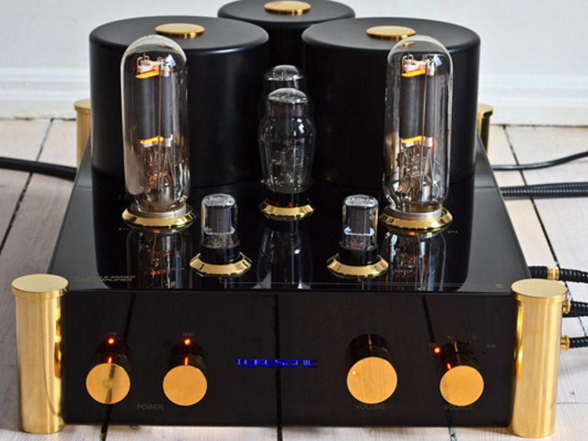 Teresonic LLC Reference 211 18Wpc all NOS Tube integrated amp - Like New demo unit