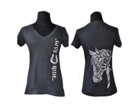 BOHO Horse T-shirt JUNIOR Cut