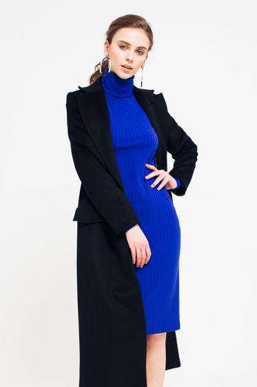 Пальто Длинное Черное