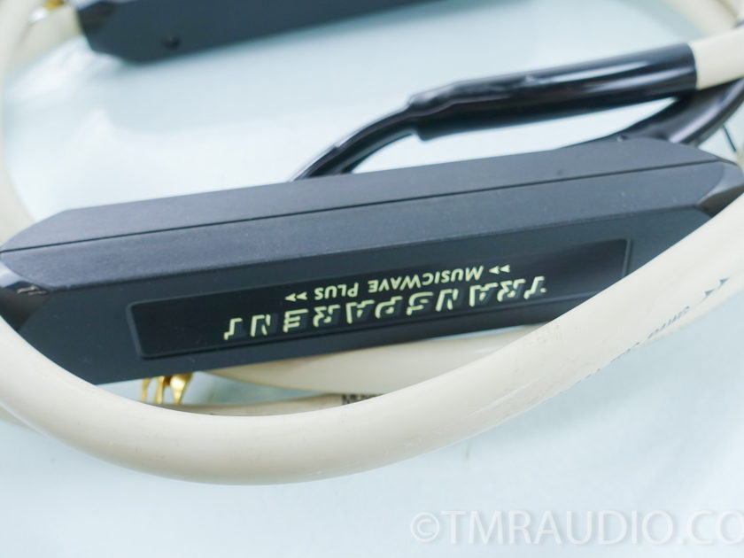 Transparent Audio MusicWave Plus Speaker Cables; 10ft. Pair (9385)