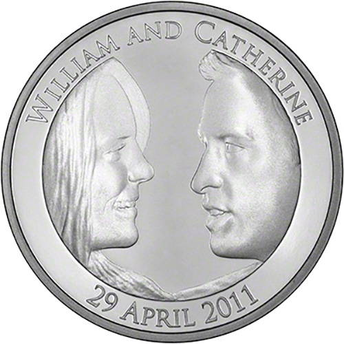Create A Custom Coin Similar To Those Minted For The Royal Wedding And Put Following On It