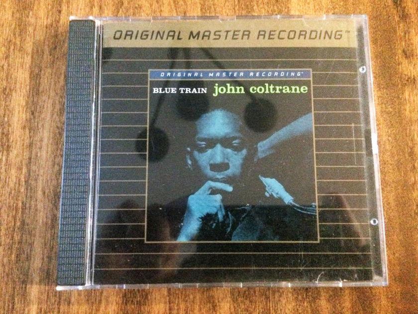 """John Coltrane """"Blue Train"""" Mobile Fidelity Gold - Ultradisc I - Japan MFSL UDCD 547"""