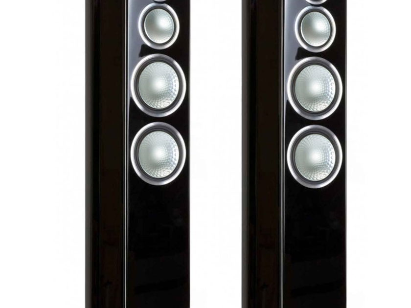 Monitor Audio Gold 200 Speakers (Piano Black Lacquer) - Mint Demo's; 1 Yr. Warranty; 20% Off; Free Shipping