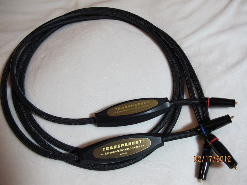Transparent  Reference  MM1 RCA Interconnects