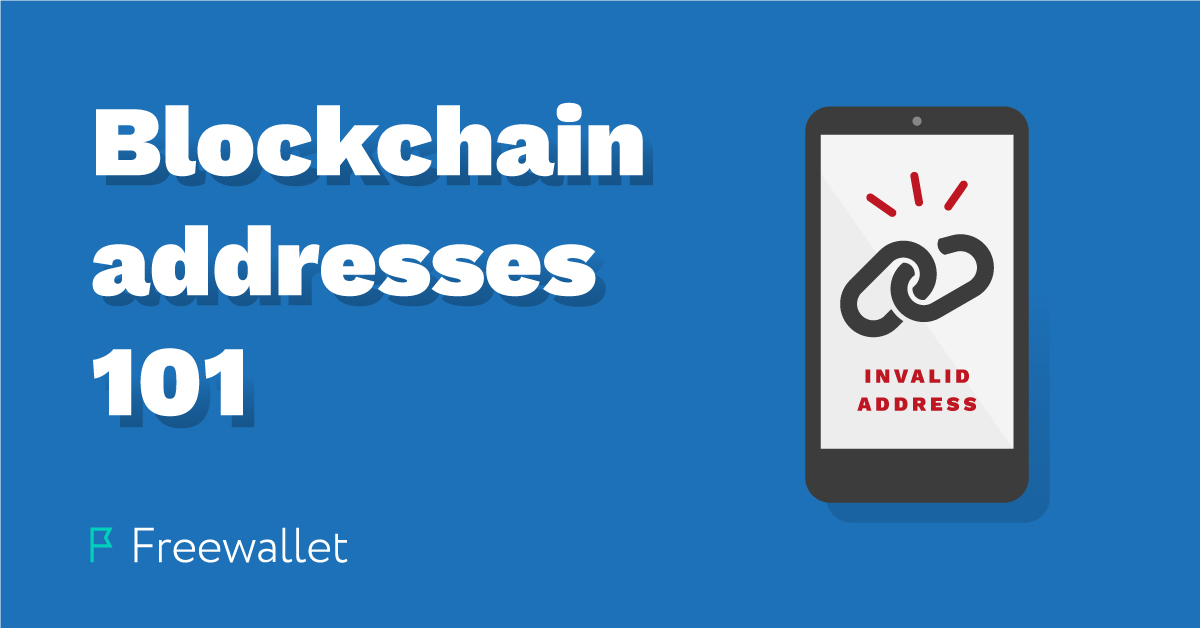 blockchain address 101