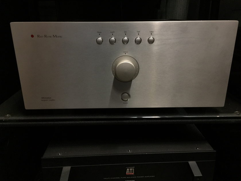 Red Rose Music Affirmation Inregrated Amplifier by Mark Levinson.