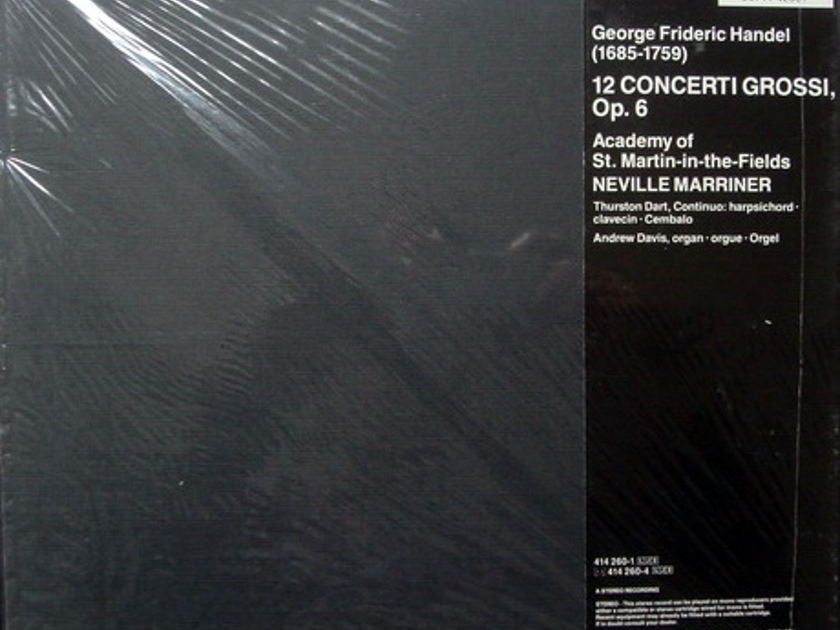 ★Sealed★ London-Decca / MARRINNER, - Handel Concerti Grossi, 3LP Box Set!