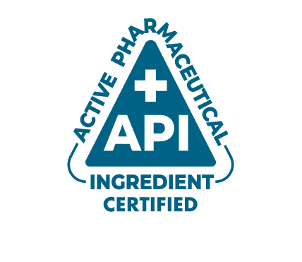 API - Active Pharmaceutical Ingredient Certified