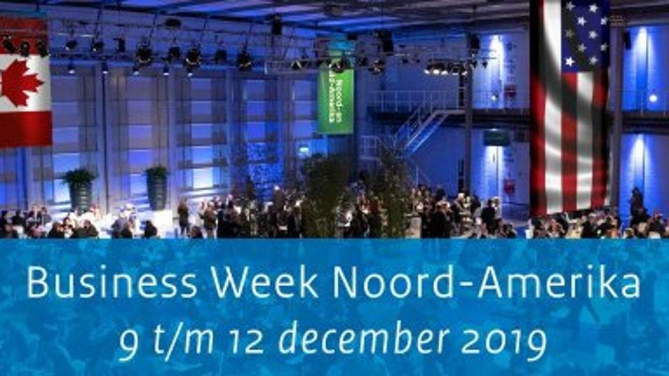Save the date: Business Week Noord-Amerika