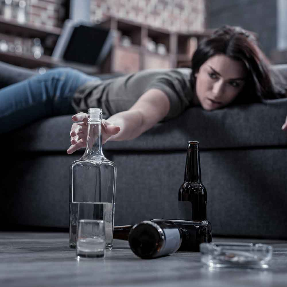Loss of Coordination After Drinking Alcohol