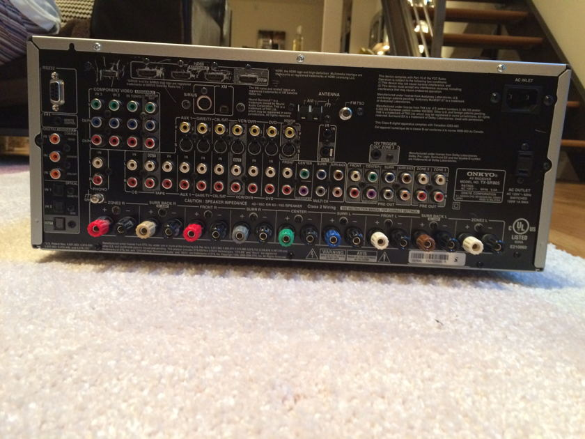 Onkyo TX-SR805 7.1 Channel HDMI 1.3a  Home Theater Receiver