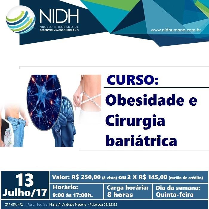 CURSO: Obesidade e Cirurgia bariátrica