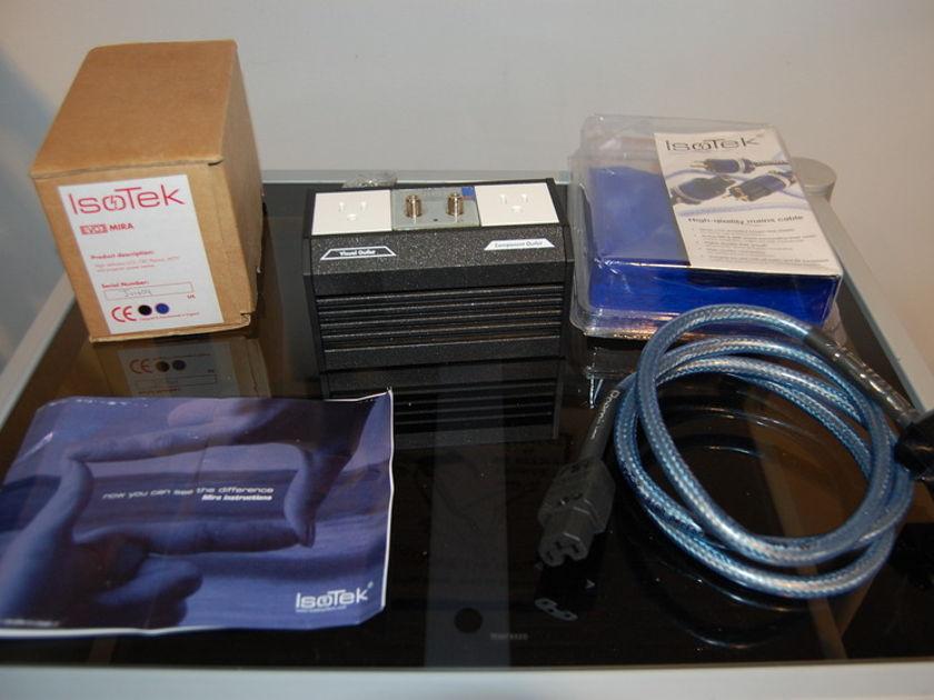 Isotek EVO 3 Mira Power Conditioner w/ Premium 1.5 m Power Cable