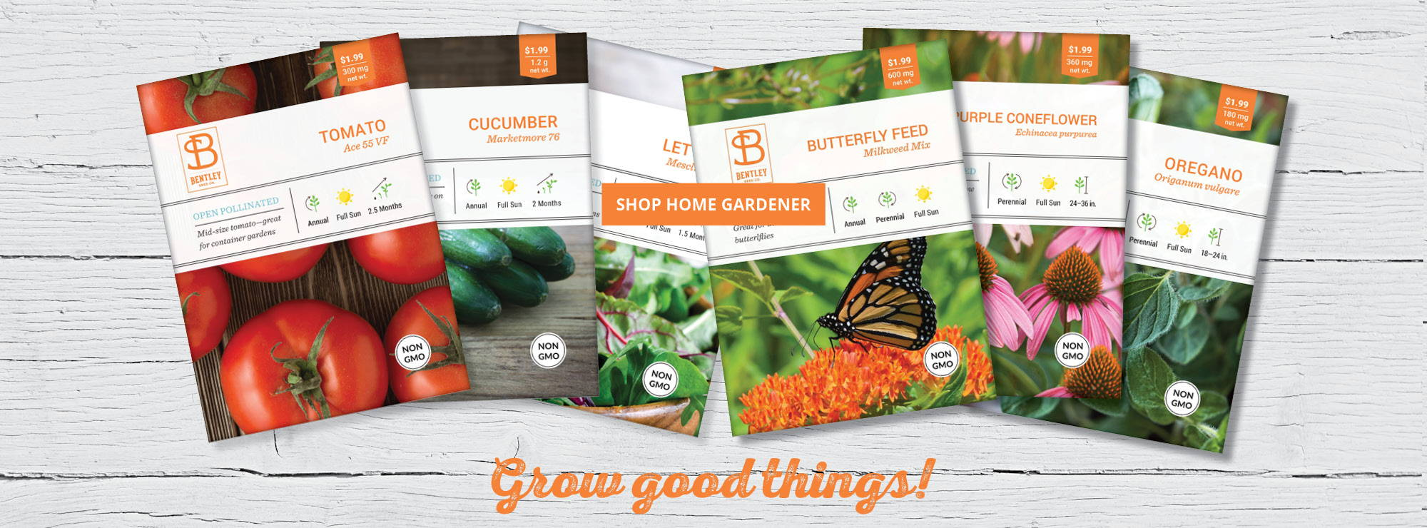 Whether you are a home gardener, or need favors for a special occasion, we have the seeds you need to grow good things!