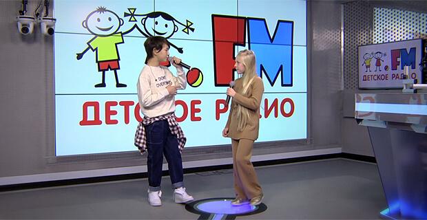 Участники «Детского Евровидения-2019» от России исполнили конкурсную песню в студии Детского радио - Новости радио OnAir.ru