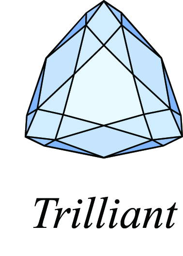 diamond trilliant cut picture
