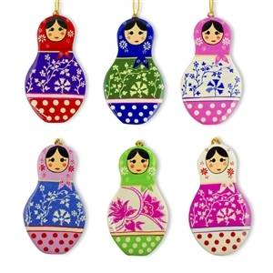 Russian Christmas Ornaments