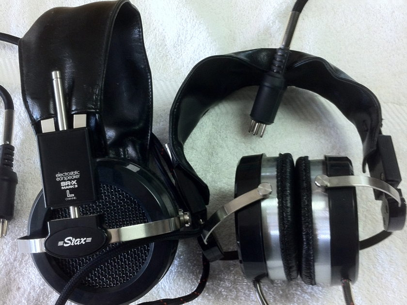 Stax SR-X MK3 Electrostatic Headphones 2 for sale