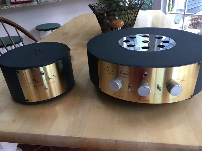 Thor Audio TA-2000 Tube preamplifier w/tube phono stage. Reduced. Pics.