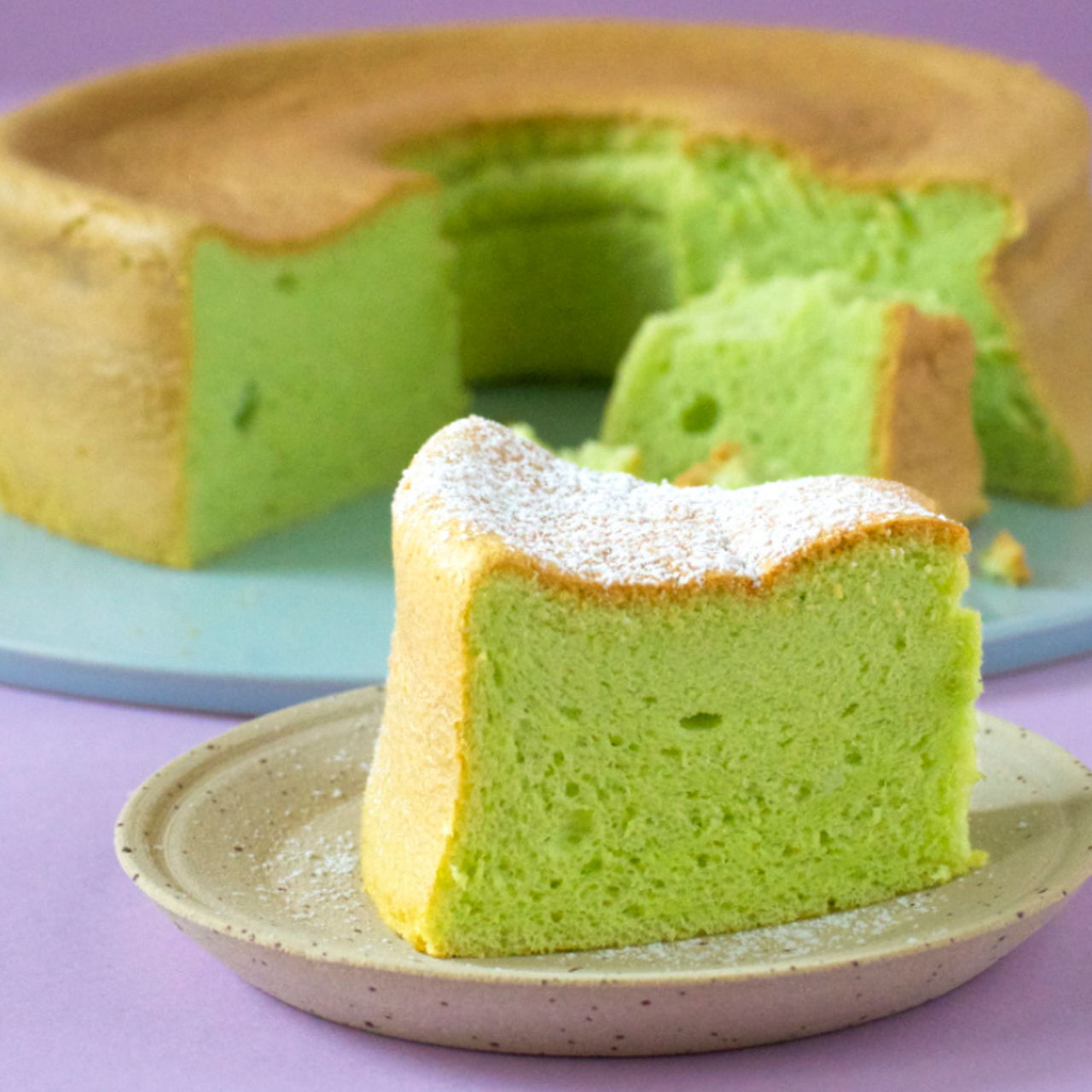 Pandan Chiffon Cake Southeast Asian Recipes Nyonya Cooking