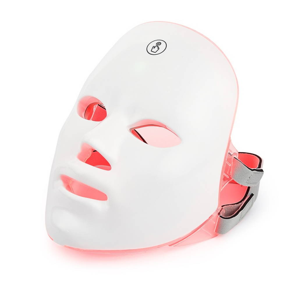 led face mask, light face mask, led facial, led light facial mask