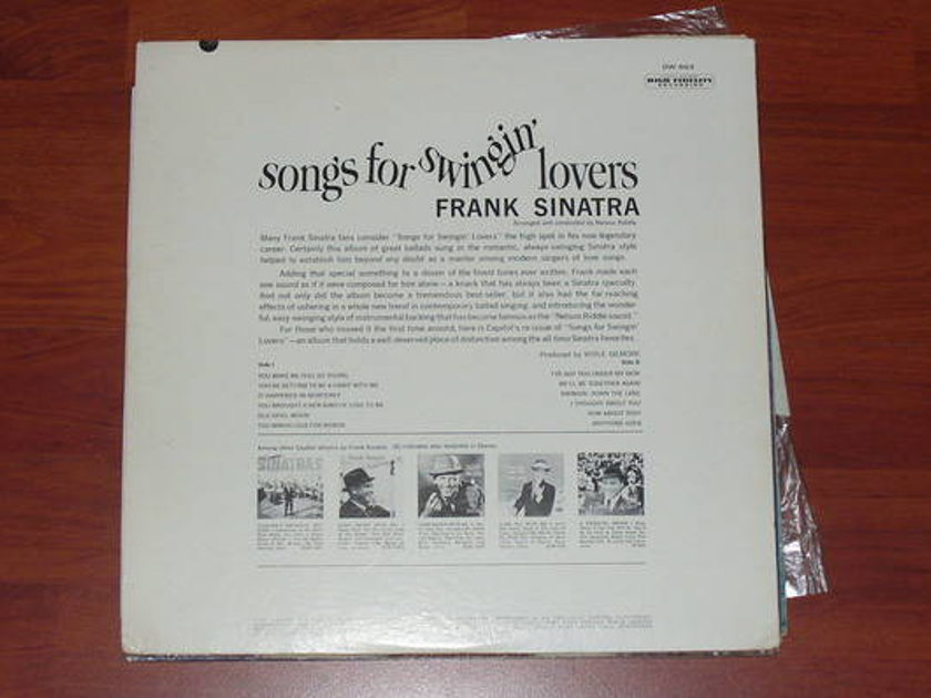 Frank Sinatra - Songs for Swingin capitol dw-653 1956