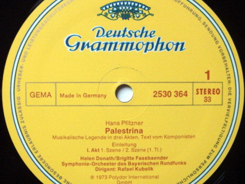 DG / KUBELIK-GEDDA-DIESKAU, - Pfitzner Palestrina, NM, 4LP Box Set!
