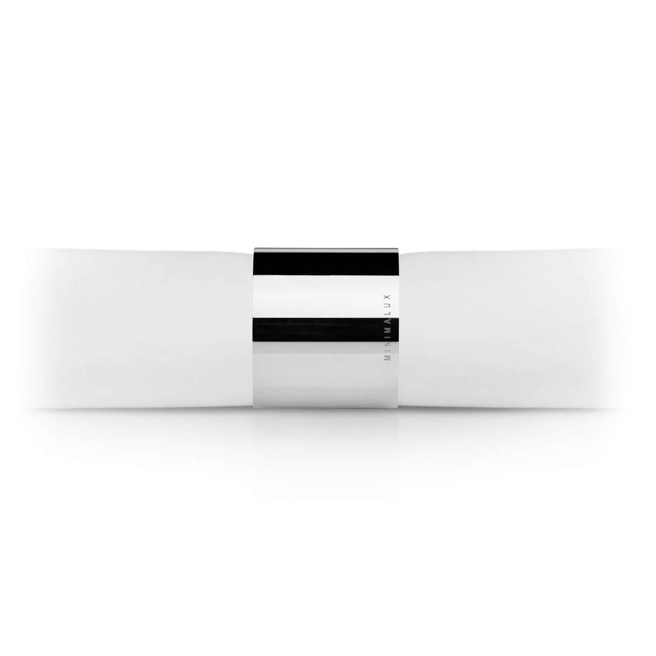 Tube Napkin Ring in Silver