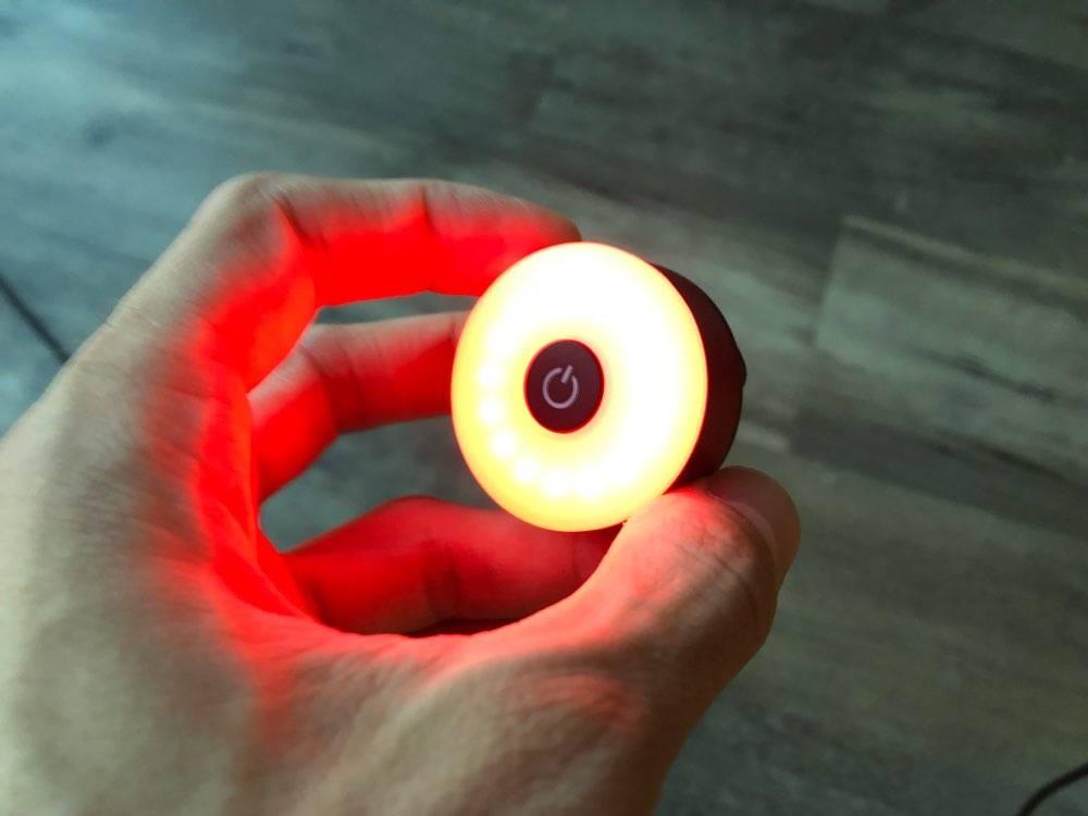 eclairage pour trottinette electrique bouton led