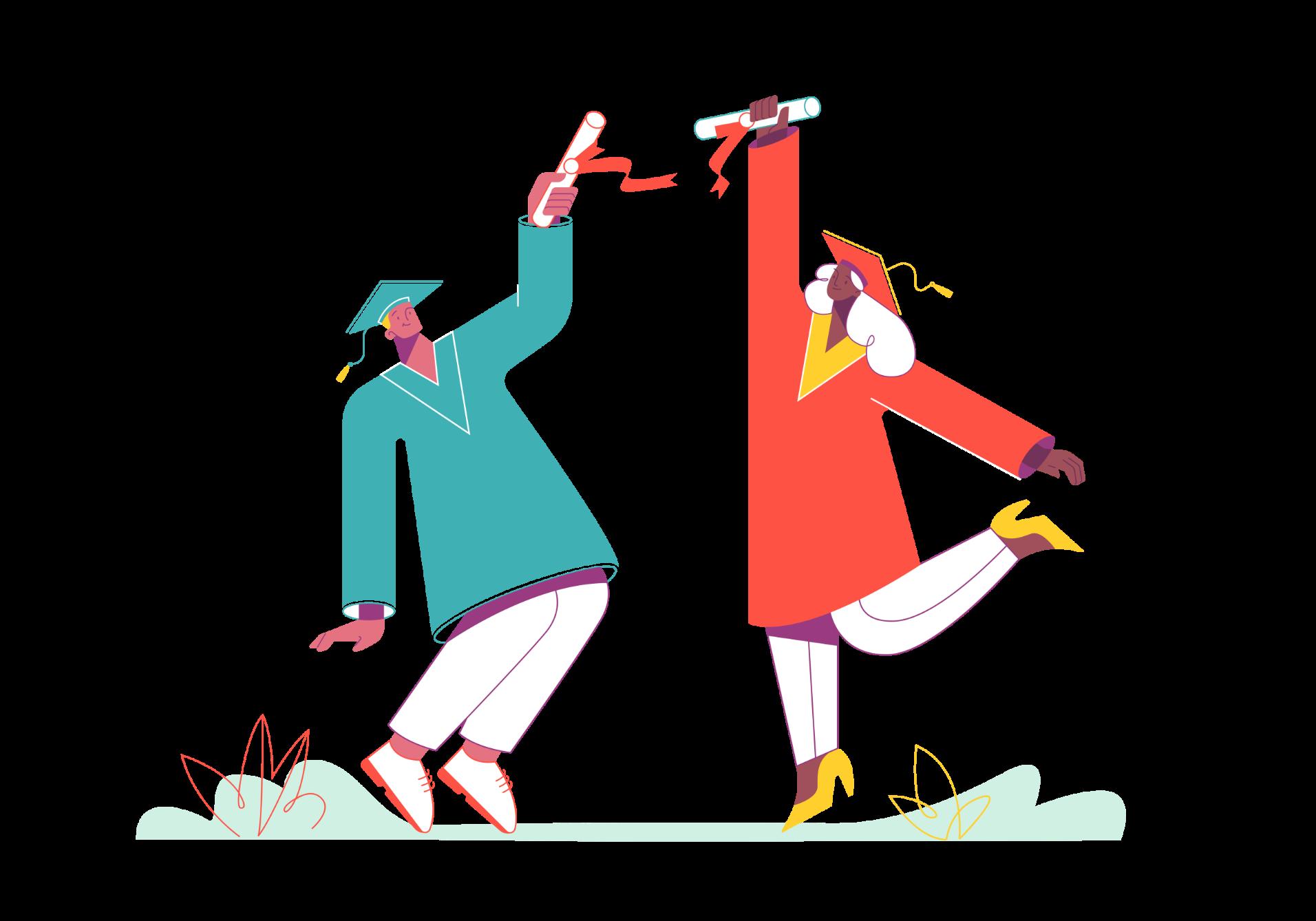 Duas figuras a celebrar.