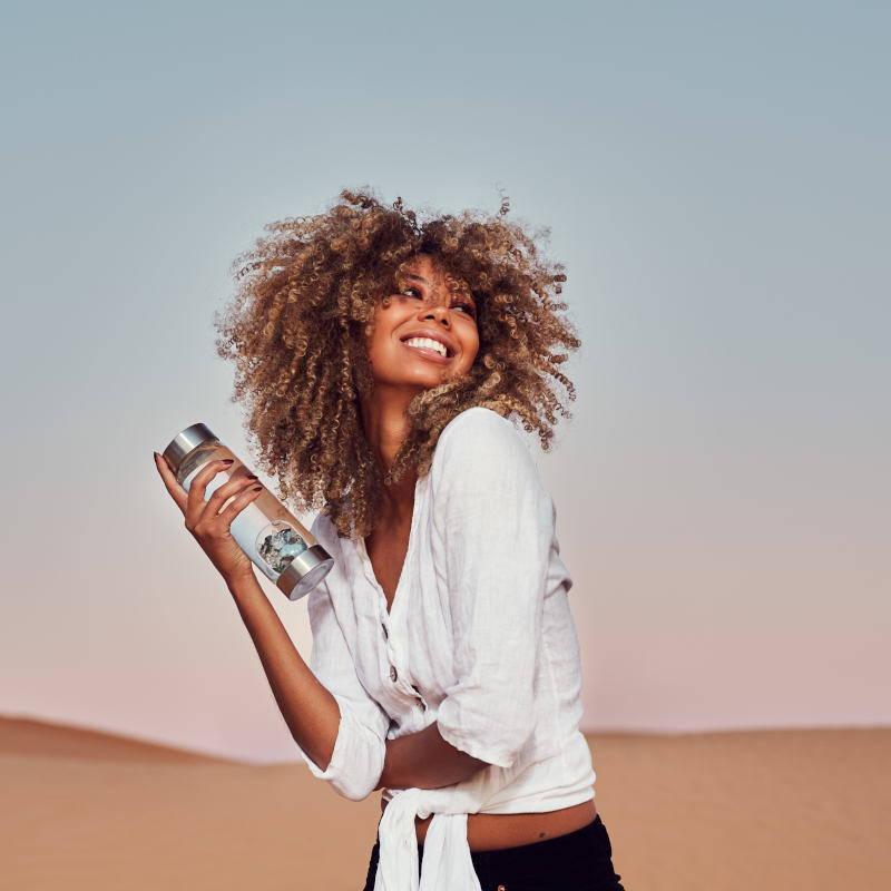 Via Flasche von VitaJuwel exklisiv mit OSIRIUS® - Jeder Mensch ist anders - Naturheilmittel mit Biopersonalisierung®