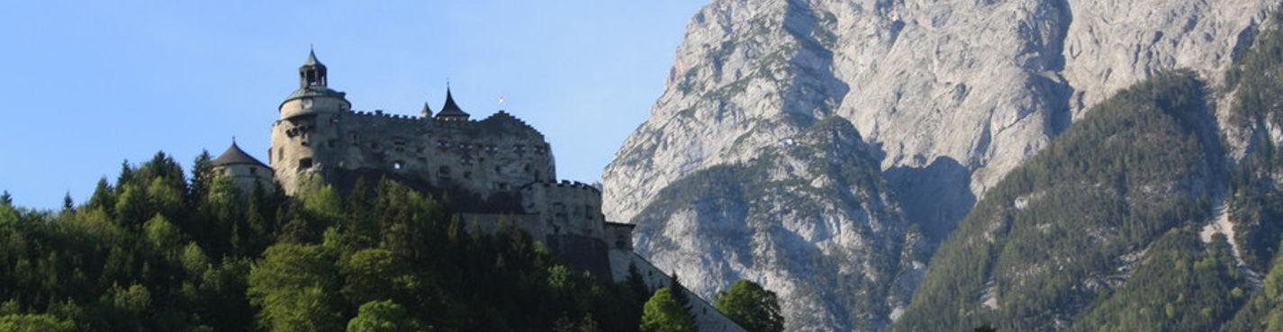 Пещеры ледяных великанов и-или крепость Хохенверфен