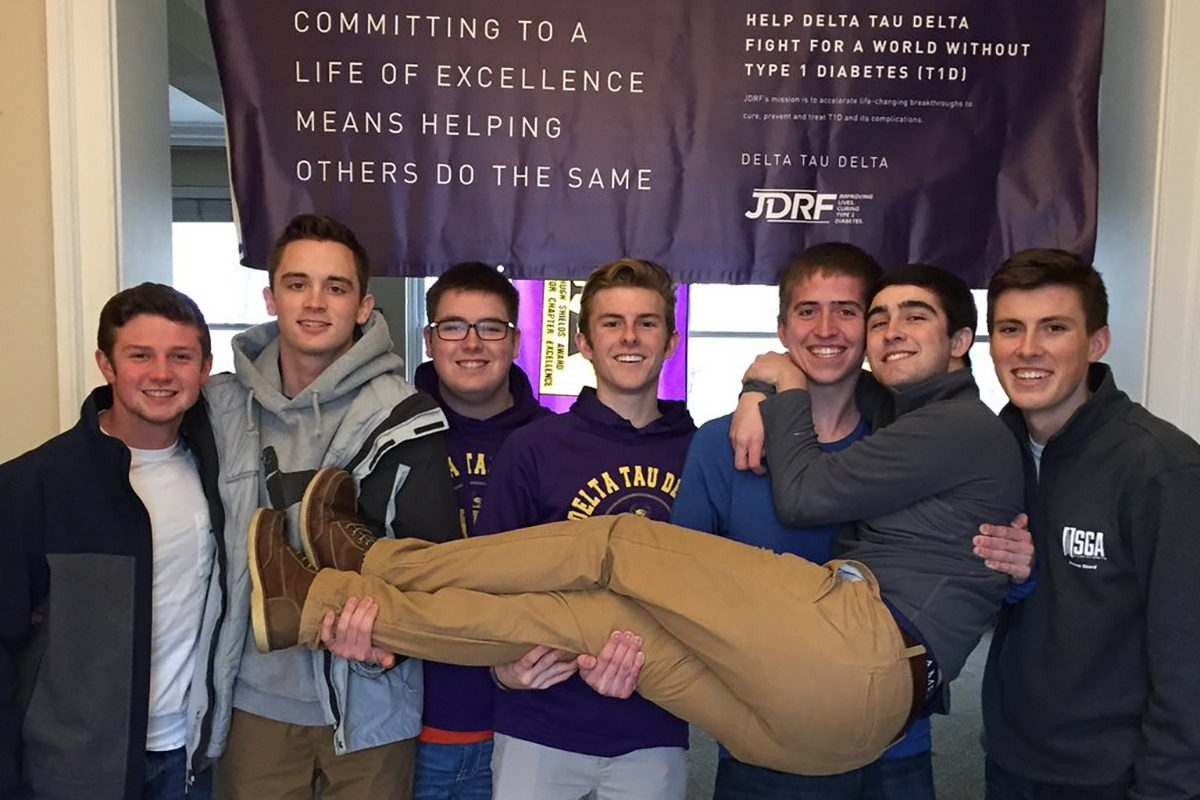 """Delt """"Taucos"""" Takes Off as Chapter Fundraiser for JDRF"""