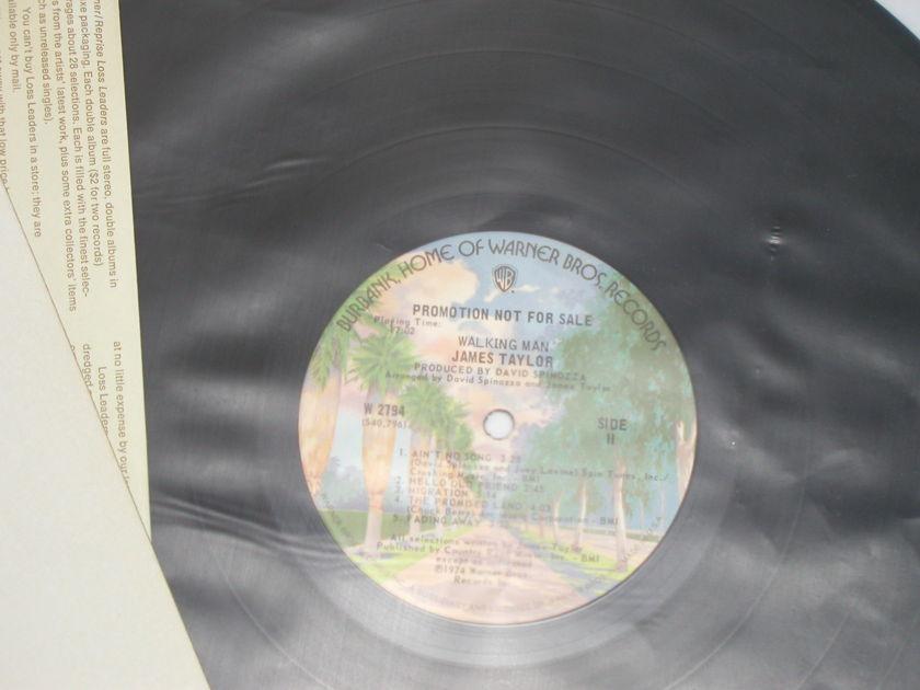 "James Taylor - Walking Man  WB Promo labels WB W2794 ""Trees"" labels"