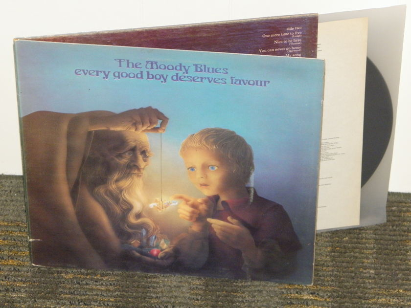 """The Moody Blues - """"Every Good Boy Deserves Favour"""" UK Import DECCA/Threshold THS 5"""