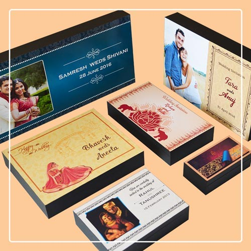 wedding invitation box designs
