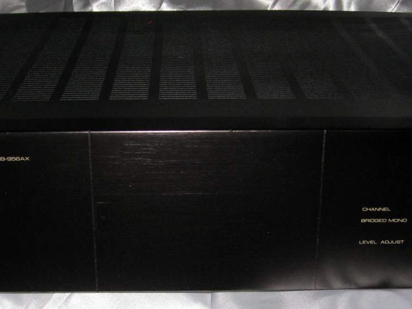 Rotel RB-956ax 6 channel bridgeable power amplifier