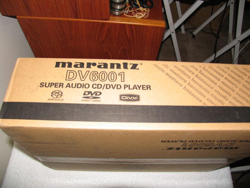 MARANTZ DV6001 CD, DVD & SACD PLAYER