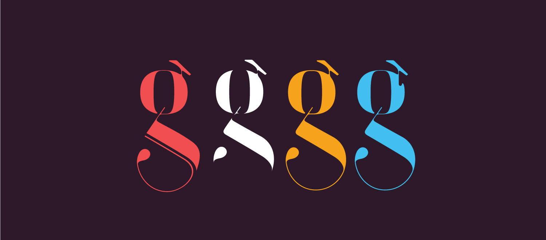 Sexy font for fashion magazine by Moshik Nadav Typography