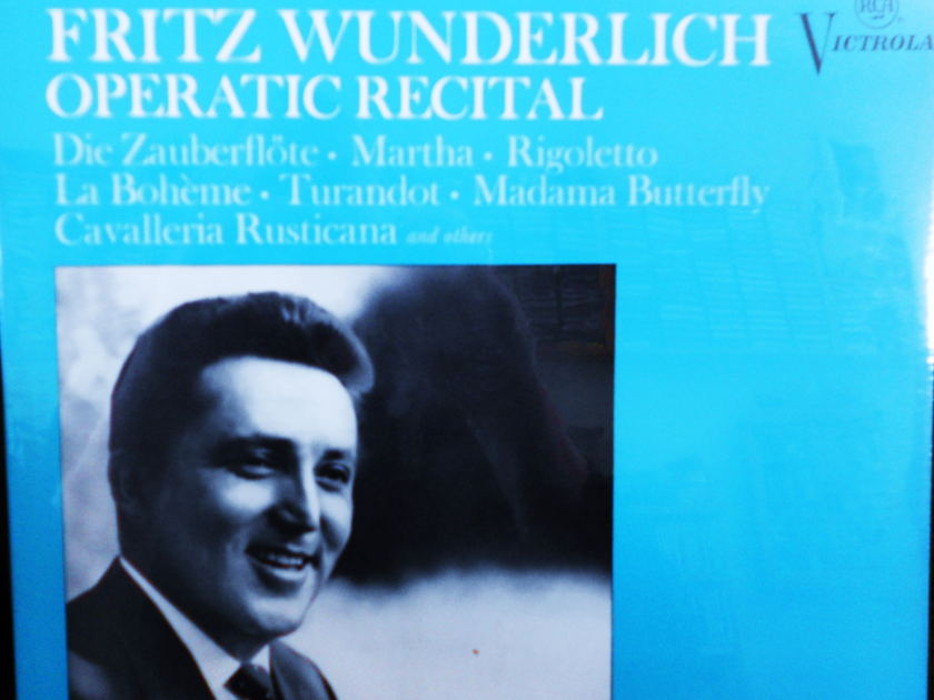 FACTORY SEALED ~ FRITZ WUNDERLICH ~  - OPERATIC RECITAL ~  RCA VICS 1235 (1967)