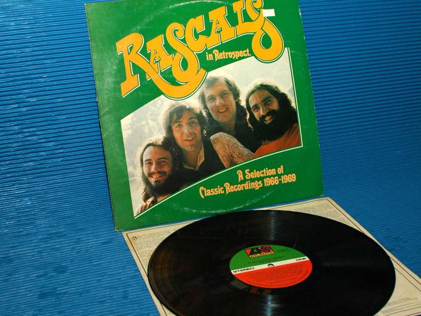 "THE RASCALS   - ""In Retrospect"" -  Atlantic 1980 Australian Import"