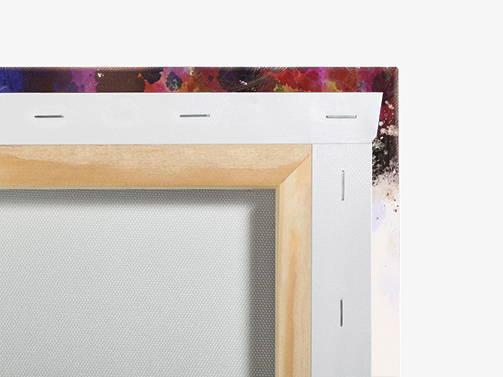 Canvas print ready to hang