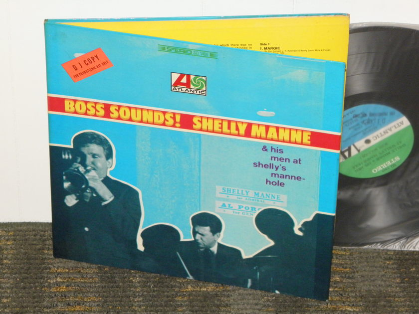 "Shelly Manne ""Boss Sounds"" - Live At Shell's Manne-Hole Atlantic SD 1469 STEREO Promo 1st pressing"