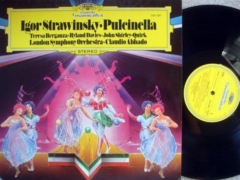 DG / ABBADO-LSO, - Stravinsky Pulcinella, MINT!