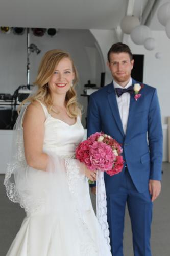 Wedding couple Halleklippen Bornholm