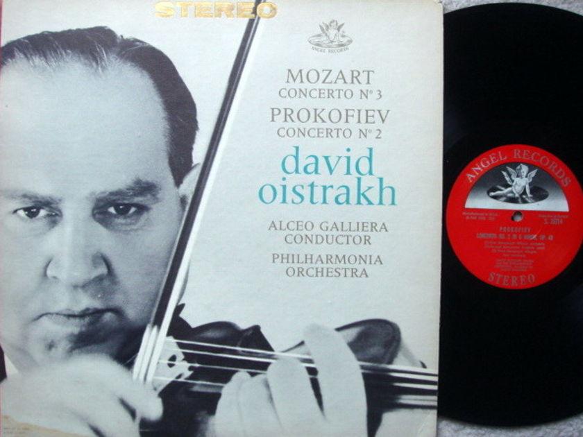 EMI Angel Semi-Circle / OISTRAKH, - Mozart Violin Concerto No.3, NM!