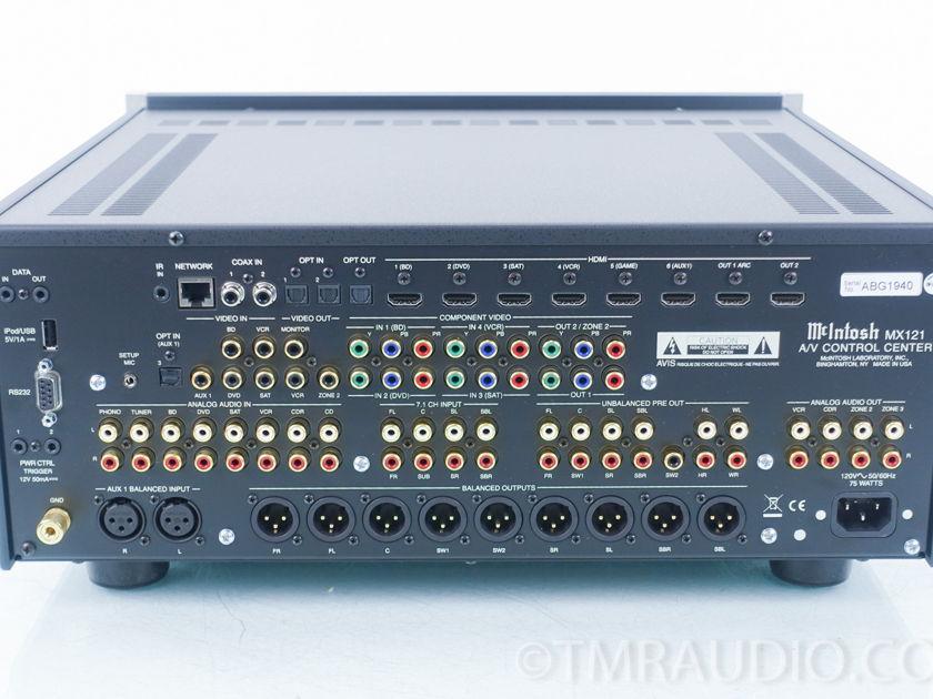 McIntosh MX-121 Home Theater Preamplifier / Processor; MX121 ( 8870)